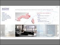 Site réalisé pour MEDIS, Salle de bains de luxe